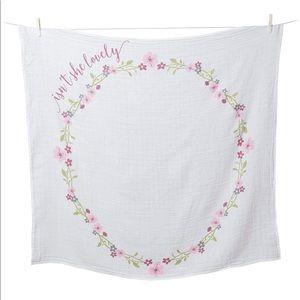 Babys 1st Yr Muslin Blanket & Card Set